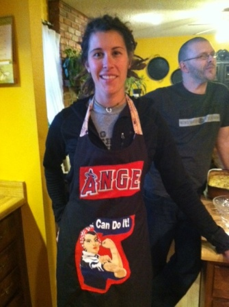 Here's an apron I made for Ange.