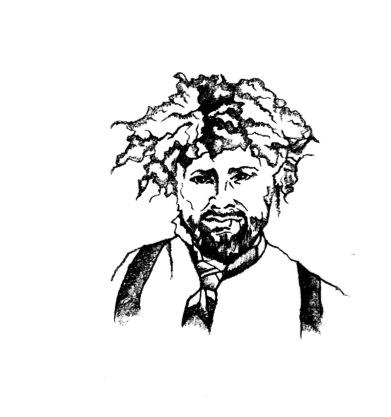 Darren Sketch Black and White